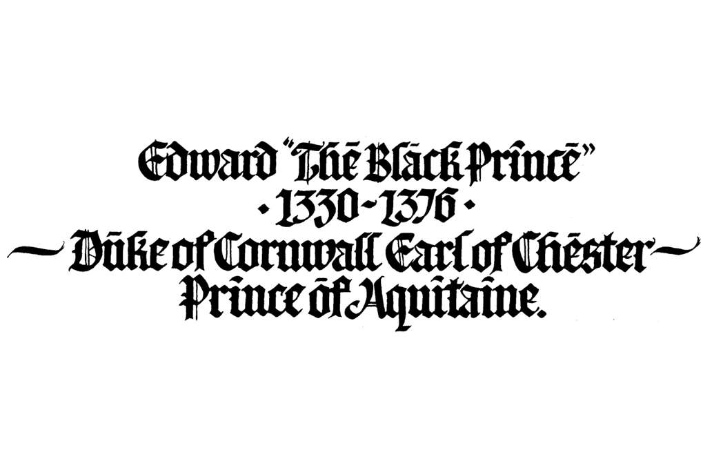 Edward 'The Black Prince'