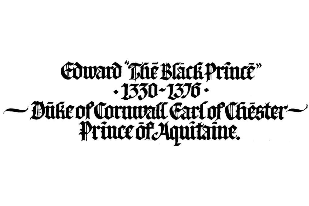 Edward 'The Black Prince'